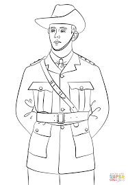 anzac soldier coloring page free printable coloring pages