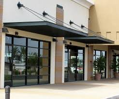 Building An Awning Over A Door Commercial Awning