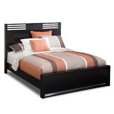 7 Piece Bedroom Set Queen Bally Espresso 7 Piece Queen Bedroom Set With Chest Black
