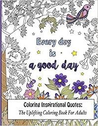 amazon coloring inspirational quotes uplifting coloring