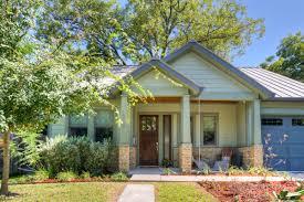 craftsman style home in austin u0027s central crestview neighborhood