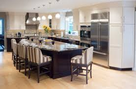 Split Level Style by Different Island Shapes For Kitchen 2017 And Images Trooque