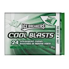 the hershey company ice breakers cool blast spearmint