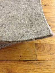 Area Rug Pad For Hardwood Floor Supreme 32tm 100 Recycled Felt Area Rug Pad For Light Colored