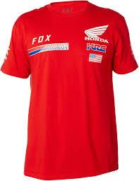 fox motocross t shirts fox racing hrc usa t shirt honda mens short sleeve mx motocross