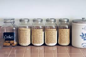 pantry organization labels the country chic cottage