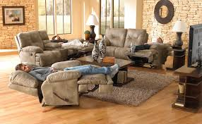 decorating recliner loveseat with avenger dual power reclining