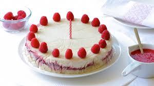 birthday cake recipe yogurt raspberry ice cream cake