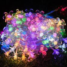 led garland christmas lights 30m 300 cherry led garland string lights fairy christmas lights