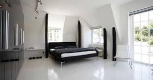 Bedroom Floor Design Bedroom Shiny Marble Floor Low Profile Bed Glossy Black Wardrobe