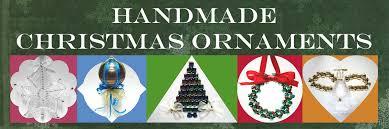 handmade tree ornaments using ribbons and