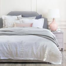 Linen Bed Frame Linen Bedding Collection Crane Canopy