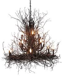 branch chandelier briarwood branch chandelier rustic chandeliers by wish