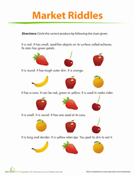 fruit riddles logic puzzles riddles and worksheets