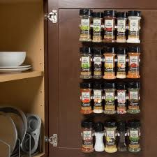 Cream Spice Rack Spice Racks U0026 Jars Kitchen Storage U0026 Organization The Home Depot