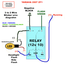 3 wire turn signal diagram diagram wiring diagrams for diy car