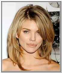 long layers with bangs hairstyles for 2015 for regular people simple medium long layered hairstyles with side bangs cute women