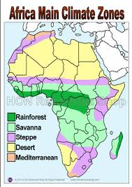 africa map climate zones africa lessons tes teach