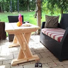 Diy Patio Coffee Table Diy Cedar Patio Table 100 Things 2 Do