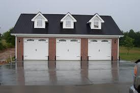 3 door garage 3 car garage with gable dormers