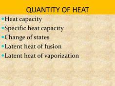specific heat capacity explained youtube chemistry pinterest