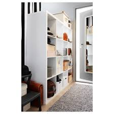 Ikea White Bookcases by Kallax Shelving Unit White 147x147 Cm Ikea