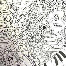 trippy coloring pages rock art series u2014 the beatles coloring