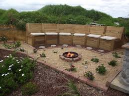 Firepit Seating How To Build A Pit Seating With Storage Diy Projects For
