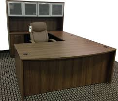 U Shape Desk Ultra Series U Shape Desk With Hutch Plano Allen Richardson