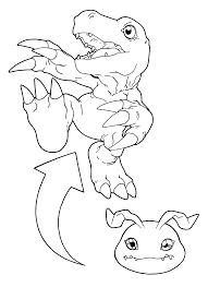 digimon coloring pages 99 gif 2400 3300 lineart digimon