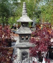 four japanese pagoda lantern large garden ornament