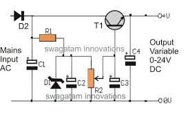 transformerless power supply circuit using mje13005 png 836 566