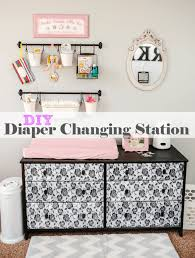 Diapers Changing Table 30 Room Organization Ideas From Toys To School