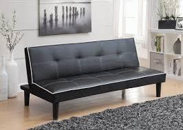andover mills ailith leather sleeper sofa u0026 reviews wayfair