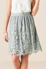 lace skirt gray sorrella lace skirt s