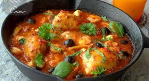 recette de cuisine plat plat méditerranéen au poulet et crevettes amour de cuisine