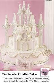 Wedding Cake Castle Use Wilton Castle Cake Kit To Create This Lovely Cinderella Fairy