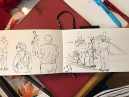 day 255 tues sept 12 more football sketches u2013 threesixfiveart