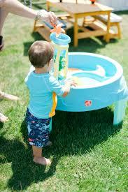 creating a backyard water park