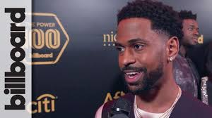 what is big sean s hairstyle big sean hints to new music in 2018 on the black carpet at power