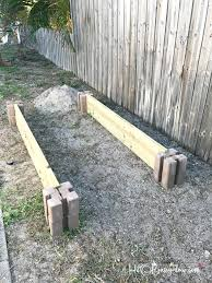 Build Vegetable Garden Fence by How To Build A Raised Vegetable Garden Bed H20bungalow