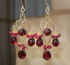 Garnet Chandelier Earrings 148 Best Made Chandelier Earrings Images On Pinterest Ear