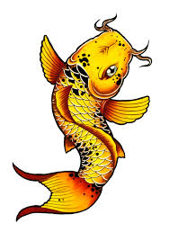 how to draw a koi fish tattoo style by thebrokenpuppet youtube