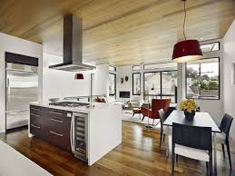 best thing living room and a kitchen style for small space black