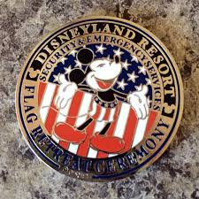 Disney Flag Honored At Disneyland Flag Retreat St Martin U0027s