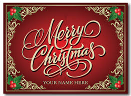 business merry christmas postcard pc623 harrison greetings