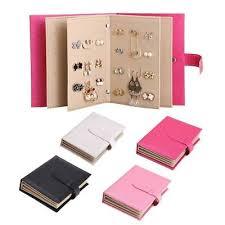 book of earrings the book of earrings jewellery storage organiser earrings