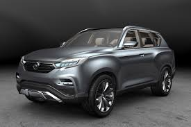 ssangyong g4 rexton and liv 2 concept pictures ssangyong