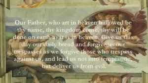 catholic prayer thanksgiving catholic prayers our father english youtube