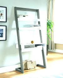 crate and barrel ladder desk ladder desk with shelves crate and barrel wall shelves leaning